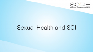 Thumbnail of the Sexual Health and SCI video